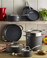 Lagostina Nera Nonstick 12-Pc. Cookware Set, Created for Macy's
