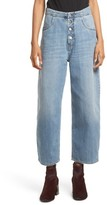 MM6 MAISON MARGIELA Women's Relaxed Fit Crop Jeans