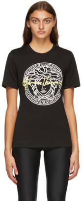 Versace Black Signature Medusa T-Shirt