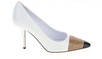 Burberry Tape Detail Pointed Toe Pumps