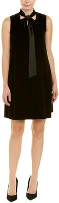 Lafayette 148 New York Petite Ronan Silk-Blend Shift Dress