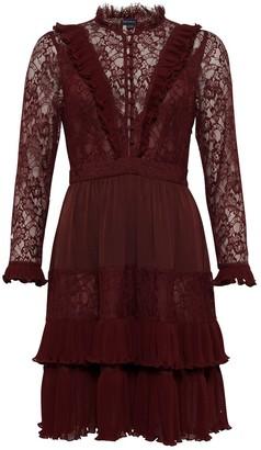 French Connection Clandre Vintage Lace Mix Dress