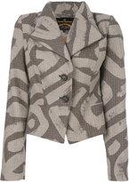 Vivienne Westwood fitted patterned jacket