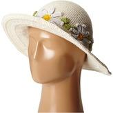 San Diego Hat Company Kids - DL2492 Crochet Daisy Chain Sunbrim Caps