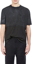 Lanvin Men's Fine-Striped Jersey T-Shirt-BLACK, YELLOW, NO COLOR