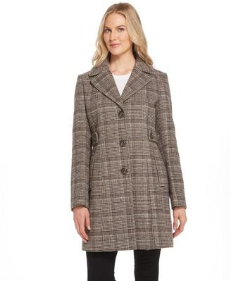 Gallery Wool Blend Walker Coat