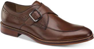 Johnston & Murphy Men Conrad Embossed Monk-Strap Loafers Men Shoes