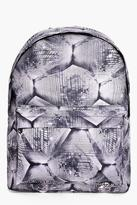 Boohoo Melissa Geo Print Backpack