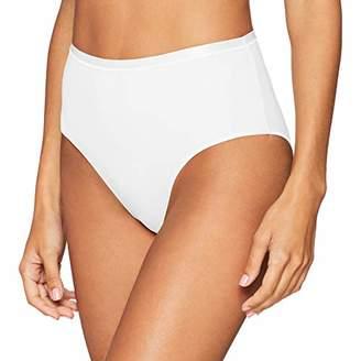 Hanro Women's Cotton Sensation Maxi Slip Full Brief, (Black 0019), (Size: XS)