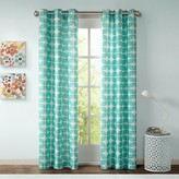 Nobrand No Brand Sonya Geometric Curtain Panel Pair