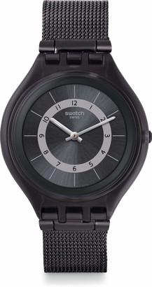 Swatch Men's Quartz Watch with Stainless Steel Strap