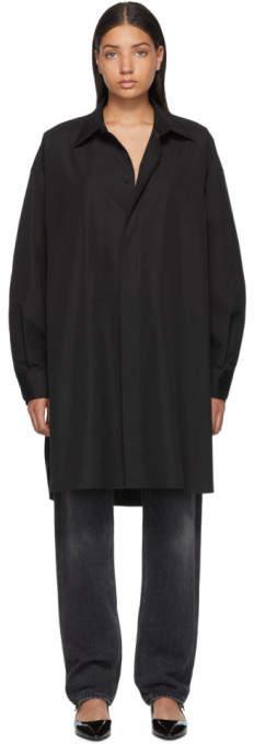 Maison Margiela Black Shirt Dress
