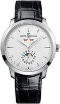 Girard Perregaux Girard-Perregaux 49535-11-131-BB60 1966 stainless steel and leather full calendar watch