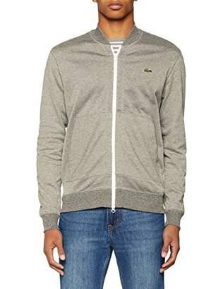 Lacoste L!VE Men's Sh9061 Sweatshirt, Grey Arbas Chiné-A C8v, Large