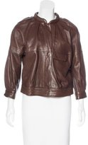 Proenza Schouler Pleated Leather Jacket