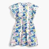 J.Crew Girls' flutter-sleeve dress in vintage floral