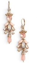 Marchesa Women's Sheer Bliss Cluster Drop Earrings