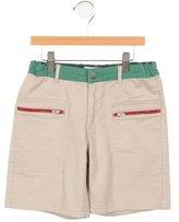 Stella McCartney Boys' Colorblock Flat Front Shorts
