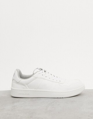Jack and Jones sneaker in all white