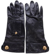 Chanel Leather CC Gloves
