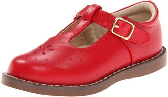 FootMates Girl's Sherry 2 (Toddler/Little Kid) Apple Red Flat 9.5 Toddler M/W