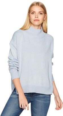 J.o.a. Women's Oversized Turtleneck Knit Sweater