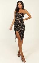 Showpo Lace To Lace Dress in black lace - 6 (XS) Dresses