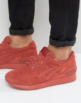 Asics Gel-Respector Suede Sneakers In Red H721L 2727