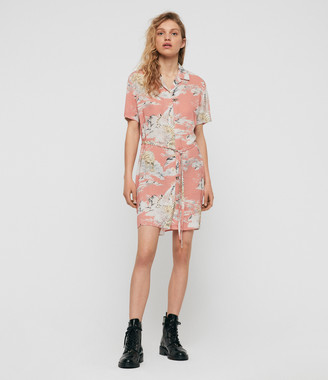 AllSaints Amia Borneo Dress