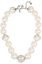 Betsey Johnson Betsey Blue Stunning Pearls Necklace