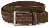Trafalgar Flannel Inlay Leather Belt