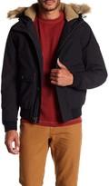 Timberland Scar Ridge Faux Fur Trimmed Faux Shearling Lining Snorkel Jacket