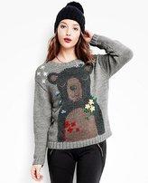 Women's Bear Hugs Sweater In Soft Alpaca