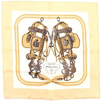 Hermes Brides de Gala Scarf Printed Silk 42