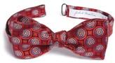 John W. Nordstrom Men's Medallion Silk Bow Tie