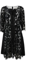 Marc Jacobs Long-Sleeve Lace Dress