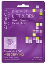 Andalou Naturals Instant Lift & Firm Hydro Serum Facial Mask