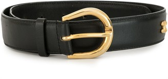 Céline Pre Owned Buckle Leather Belt