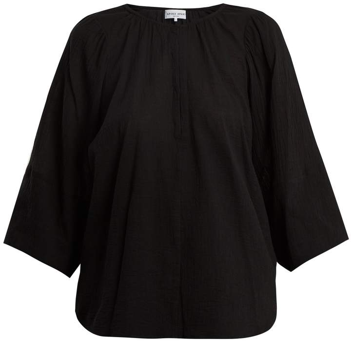 Apiece Apart Nova cotton-gauze top