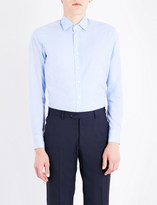 Etro Tonal paisley-pattern tailored-fit cotton shirt