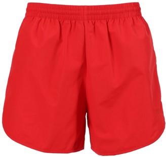 Balenciaga Red Running Shorts