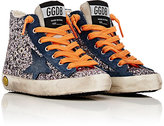 Golden Goose Deluxe Brand Distressed Glitter Francy Sneakers