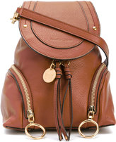 See by Chloe Polly mini backpack - women - Cotton/Leather - One Size
