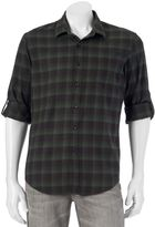 Apt. 9 Men's Modern-Fit Plaid Flannel Button-Down Shirt