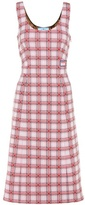 Prada Plaid sleeveless dress