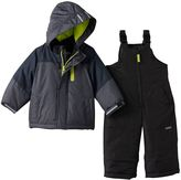 Osh Kosh Baby Boy Heavyweight Fleece-Lined Jacket & Bib Snow Pants Snowsuit Set