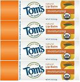 Tom's of Maine Natural Lip Balm, Island Paradise, 4 count