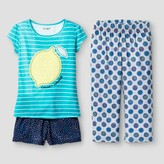 Cat & Jack Girls' Pajama Set Cat & Jack - Teal