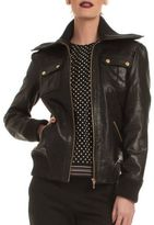 Trina Turk La Cienega Leather Jacket