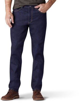 Lee Men's Regular-Fit Stretch Straight-Leg Jeans